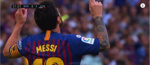 Leo Messi [Imagem via YouTube]