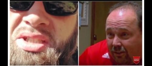 MTV star Jenelle Evans' husband, David (right) threatened co-star's dad, Randy. [Image Source: Tvseries Revelation - YouTube]