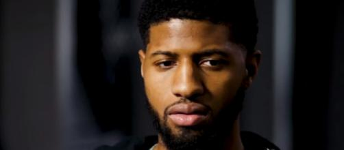 Paul George interview with Rachel Nichols. - [ESPN / YouTube screencap]