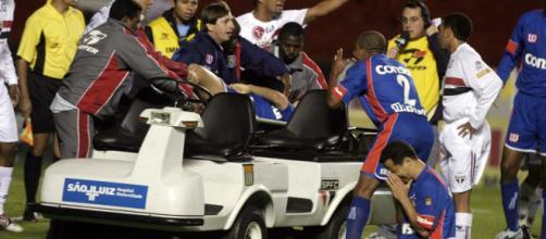 Serginho defendia a equipe do São Caetano