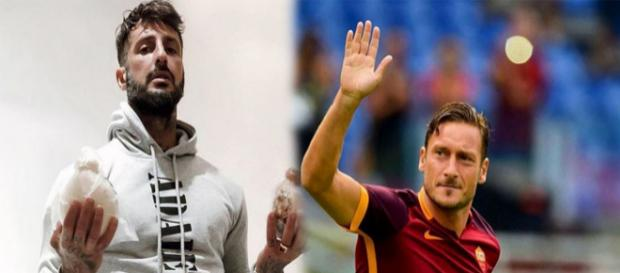 Fabrizio Corona pubblica su Instagram un post dedicato a Totti: il web lo critica