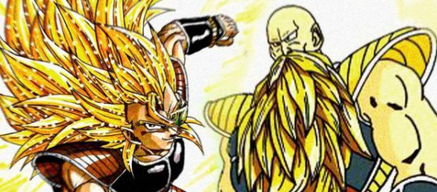 Raditz und Nappa als Super Saiyajin - Fanart