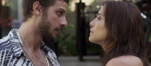 Romance de Rosa e Ícaro chegará ao fim na reta final. (foto reprodução).