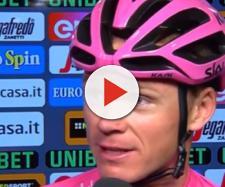 Chri Froome, vincitore dell'ultimo Giro d'Italia