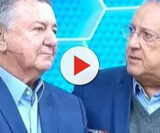 Despedida de Arnaldo Cezar Coelho emociona a todos. (foto reprodução).
