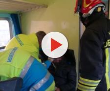 Maltempo, in Calabria una tromba d'aria investe un treno