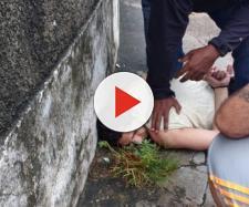 Rapaz foi avistado por parente da vítima.