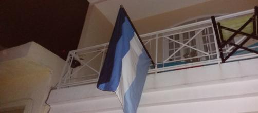 Bandeira g0y exposta com orgulho em um sobrado de São Paulo, região de Perdizes