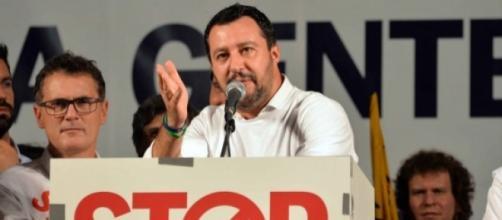 Elezioni italiane 2018 - tpi.it. Salvini in un corteo contro l'immigrazione