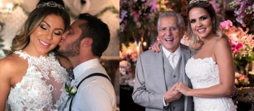 Famosos que se casaram em 2018 em cerimônias muito badaladas. (foto reprodução).