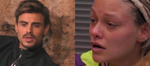 Grande fratello Vip: Francesco Monte ha paura di amare, Giulia Provvedi in lacrime per Pierluigi Gollini