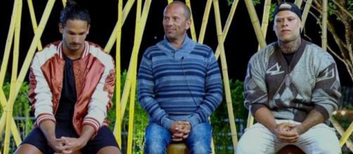 João Zoli, Rafael Ilha e Léo Stronda estão na roça, em A Fazenda 10