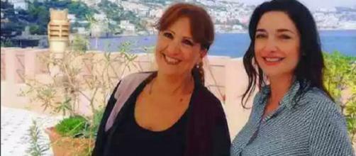 L'attrice Sara Ricci nei panni di Adele.