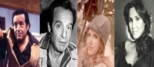 """Os atores do seriado """"Chaves"""" antes da fama. (Foto: Reprodução Internet)"""
