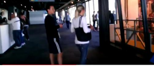 Visitors in the John Hancock Tower Observatory. [Image source/DetJackScagnetti YouTube video]