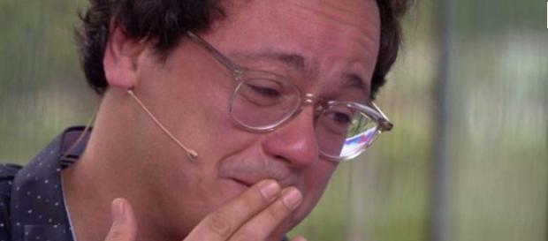 Danton Mello vai às lágrimas no Video Show
