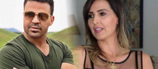 Ex de Eduardo Costa disse que Poder Judiciário resolverá o impasse com o cantor