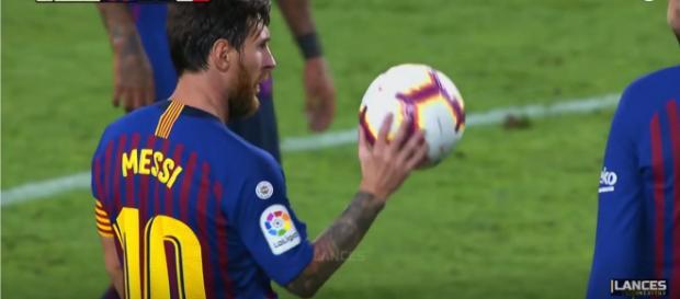 Leo Messi [Imagem via YouTube]
