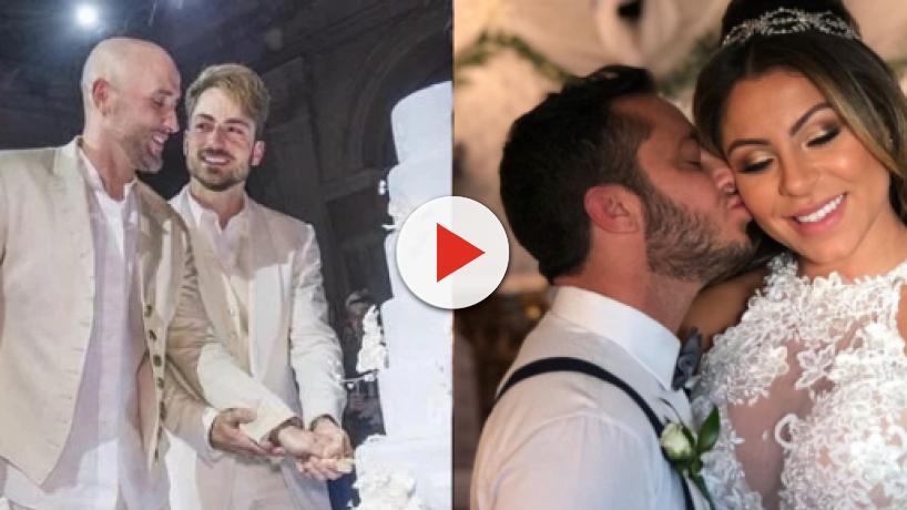 8 famosos que assumiram a homossexualidade e subiram ao altar