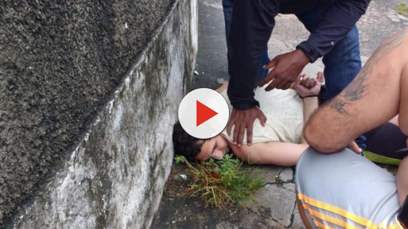 Suspeito de matar a mulher no Rio é capturado pela própria família da vítima