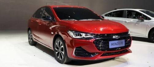 Chevrolet aposta no novo Monza para o mercado asiático. (foto reprodução).