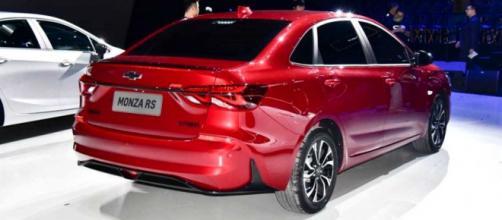 Novo modelo Chevrolet Monza 2019.