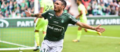 Rémy Cabella revient à son meilleur niveau au meilleur moment pour l'ASSE (parlonssport.fr).