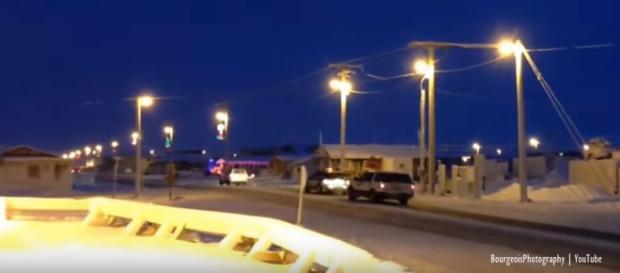 Barrow Alaska sun sets for 65 days - Image credit - BourgeoisPhotography | YouTube