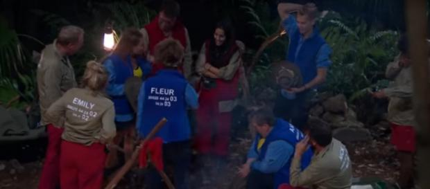 Snake Rock finally re-unites with their campmates in Snake Rock (Image credit: I'm A Celebrity...Get Me Out Of Here!/ YouTube.com)