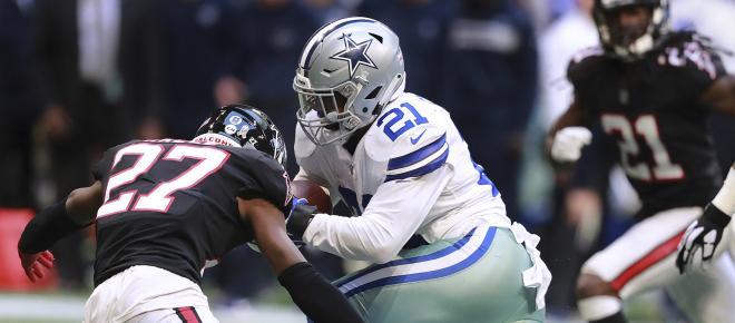 Cowboys suman 2da victoria en fila al vencer 'in extremis' a los Falcons en Atlanta