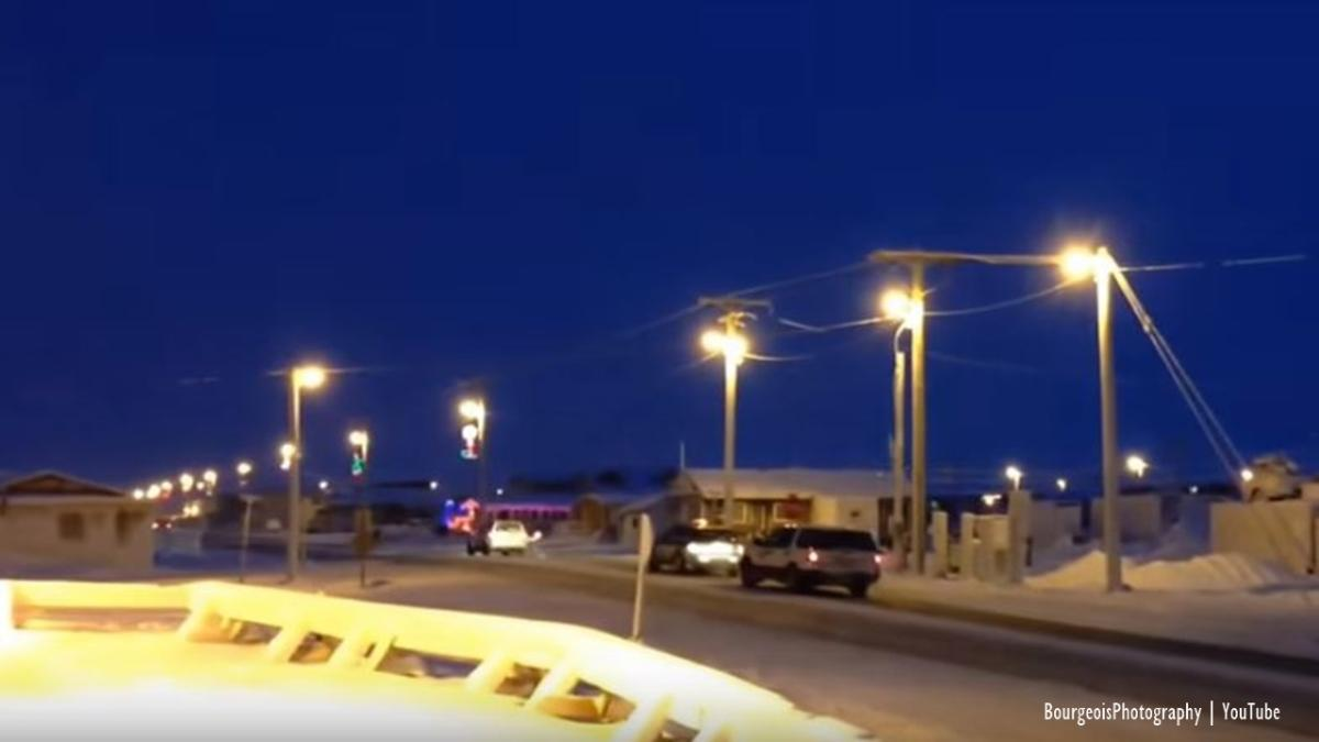 Watch This town in Alaska wont see the sun again until January 23 video
