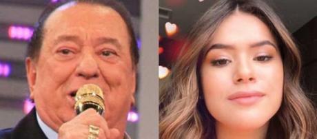 Raul Gil se envolveu em polêmica com Maisa após mencionar Bolsonaro no Teleton 2018.
