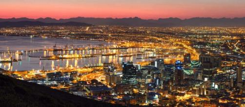 Cape Town, South Africa sparkles at any time of year, but especially at Christmas. [Image Wesley Nitsckie/Flickr]