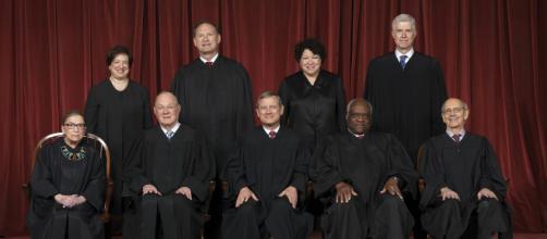 La Corte Suprema degli Stati Uniti - giudici