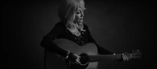 Dolly Parton is delighted by the music and the message of Dumplin,' and the legend wants to go out singing, [Image source: Dolly Parton/YouTube]