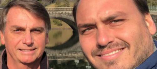 Filho de Jair Bolsonaro, Carlos Bolsonaro anuncia decisão sobre nomeação ao SECOM - Galeria BN