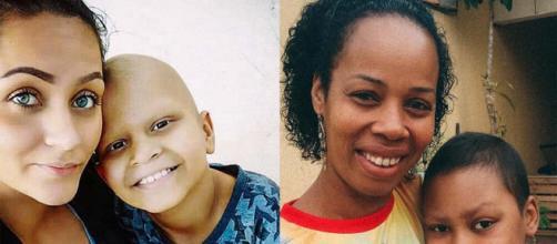 Gabriela e Daniela perderam seus filhos para o câncer