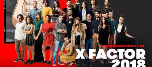 I concorrenti della dodicesima edizione di X-Factor.