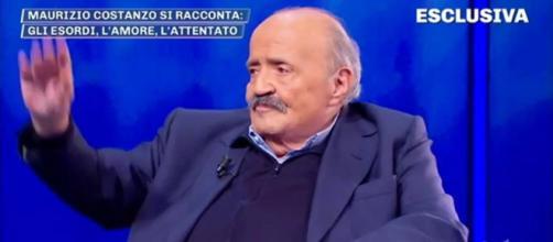 Maurizio Costanzo ospite di Pomeriggio 5