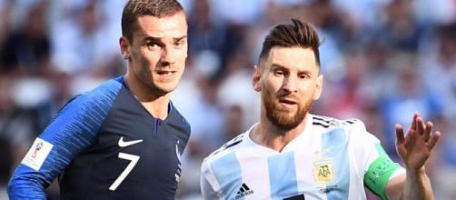 Messi supera a Griezmann en goles