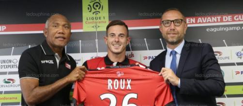 Nolan Roux l'attaquant de Guingamp