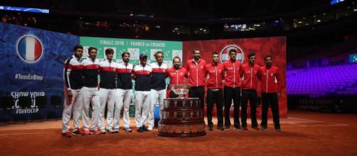 Présentation des équipes - finale de Coupe Davis 2018