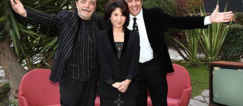 Nino Frassica, Nathalie Guetta e Flavio Insinna - blogspot.com