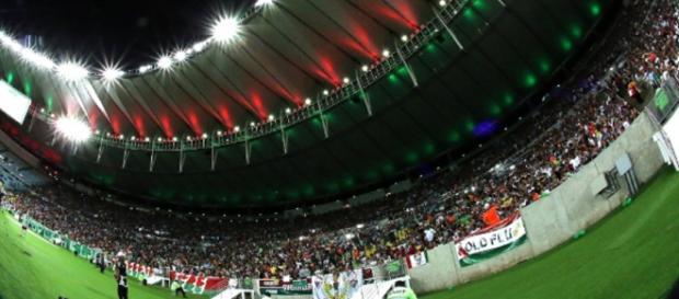 Flu espera grande público no Maracanã contra o Atlético-PR pela Sul-Americana (Foto: Uol Esporte)