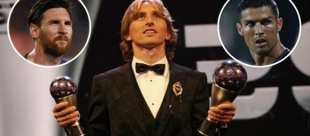 "Luka Modric ganador, ""The Best"" FIFA-2018"