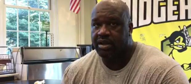 NBA champion Shaquille O'Neal produced film from personal approach. [Image Source: Sag Harbor Press - YouTube]