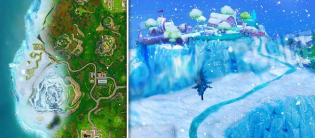 Snow is coming to Fortnite Battle Royale. [Image Credit: Tridzo / YouTube]