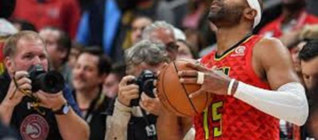 Vince Carter vient de passer la barre des 25 000 points en NBA.