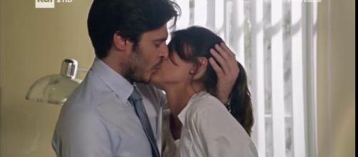 L'Allieva: il primo bacio tra Claudio e Alice