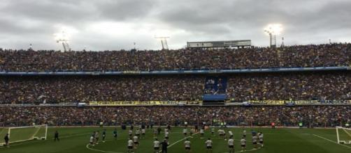 más de 50.000 hinchas de Boca Juniors en la práctica abierta